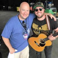 Mitchell Tenpenny Celebrates With WJVC/Nassau-Suffolk