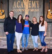 Mitchell Tenpenny Hangs At Academy Of Country Music