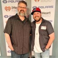 Mitchell Tenpenny Hangs With WDRM/Huntsville, AL