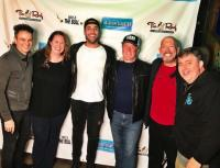 Tyler Rich Hangs With WDXB/Birmingham