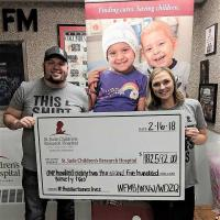 WDZQ/Decatur, IL Raises More Than $180,000 For St. Jude