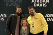 Jordan Davis Celebrates #1 With WYCT/Pensacola