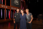 Chris Janson And Keith Urban Collaborate At Opry