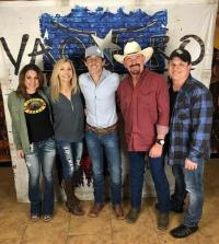 Aaron Watson Visits With Radio Friends In Florida