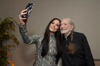 Kacey Musgraves Honors Willie Nelson During GRAMMY Week Celebration