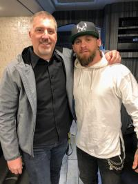 Brantley Gilbert Shares New Music With WUBE/Cincinnati