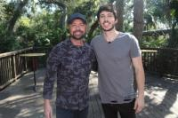 Morgan Evans And Cody Alan Hang In Florida