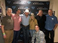 Cody Johnson Invites Radio Friends Backstage