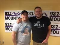 Logan Mize Visits KDRK/Spokane