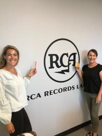 Bagels And Laundry Day With RCA Nashville