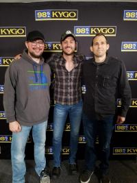 Drew Baldridge Hangs With KYGO/Denver