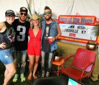 LOCASH Poses Backstage With Radio Friends