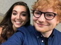 Molly Cruz Shares Five Minutes With Ed Sheeran