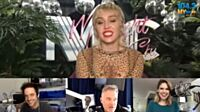 Miley Cyrus Chats With Valentine In The Morning