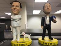 KLBJ/Austin's Dudley And Bob Celebrate 25 Years With Bobbleheads