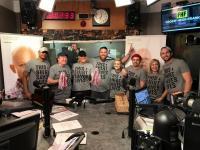 Frosty, Heidi & Frank Help KLOS Rock St. Jude Fundraiser