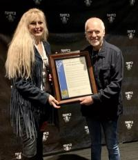 KGB/San Diego Presents Peter Frampton With Special Proclamation