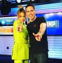 Rita Ora Visits AMP Radio NYC