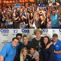 The Vamps Visit WDJQ Canton, OH
