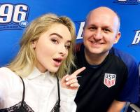 Sabrina Carpenter Visits B96 Chicago