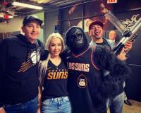 Dana's Fun With Phoenix Suns