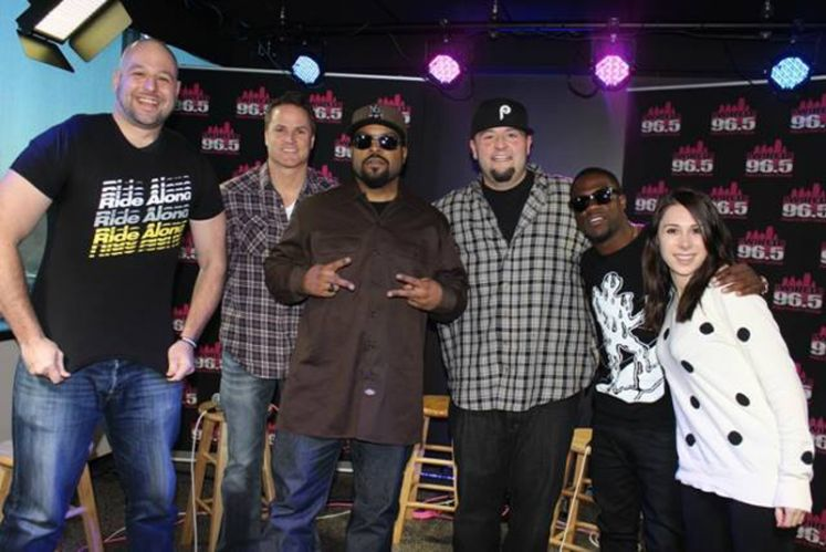 ice cube, kevin hart, wrdw, wired 96.5, big philly show, steve ...